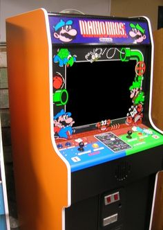 Http Www Arcadespecialties Com Images Mario Bros Arcade Front