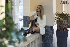 """Δείτε στο video τα ρούχα της κολεξιόν Φθινοπώρου - Χειμώνα 2014 της ANEL Fashion, όπως παρουσιάστηκαν στο πρωινό του MEGA με τον Μάρκο Σεφερλή """"Mega με μία"""" Athens, Leather Skirt, Photoshoot, Skirts, Fashion, Moda, Leather Skirts, Photo Shoot, Skirt"""
