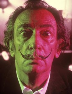 SALVADOR DALI....1967.....PHOTO BY PHILIPPE HALSMAN........ON MAGNUM PHOTOS..............