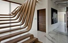 Des escaliers très originaux...!