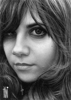Lucy - 50 Excellent Examples of Portrait Drawing