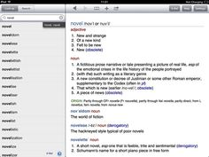 Chambers Dictionary & Thesaurus iOS Writing Apps