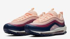 more photos 51fe2 59b82 Nike Air Max 97 Plum Chalk Womens