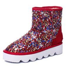 ENMAYERレッドさん冬の新ラウンドスパンコール重い底のブーツ冬の雪のブーツの靴ショートブーツ34 ENMAYER https://www.amazon.co.jp/dp/B00II1MHCM/ref=cm_sw_r_pi_dp_x_2IkCyb0KT27RX