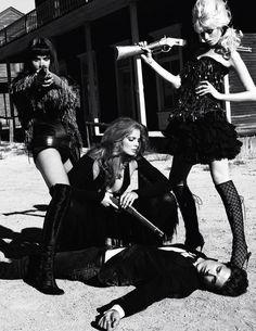 Dress Me, I'm Your Mannequin . . .: Terry Richardson's shoot for Vogue Paris Jan 11