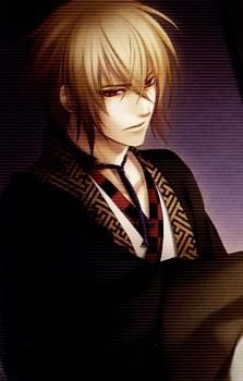 Also from Hakuouki is Kaname Chikage, an oni from the Satsuma clan.
