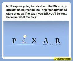 The Pixar Lamp…