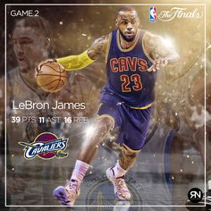 LeBron James Overcoming all the adversity Cavaliers win NBAFinals Game 2