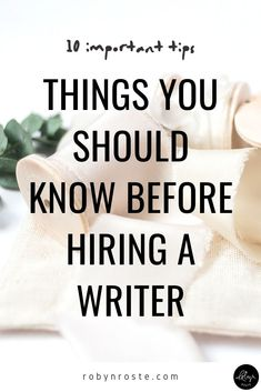 Here are 10 tips for hiring a writer. It may feel scary to ask for things like revisions and tweaks but writer's expect revisions within reason. It's OK. Online Writing Jobs, Freelance Writing Jobs, Writing Process, Writing Tips, Writing A Press Release, Make Money Writing, Old Quotes, Copywriting