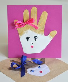 Cute mother's day cards for kids to make #diy #cards #kids #crafts #mothersday