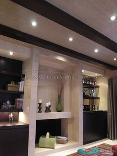 Fireplace design and built ins