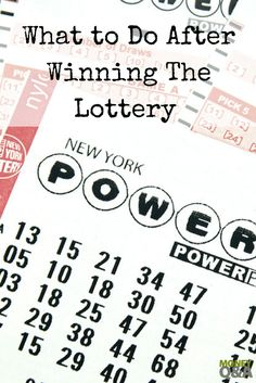 Do you know what to do after winning the lottery? What about when you receive a large inheritance? Here are the four steps you need to know right now! Lottery Strategy, Lottery Tips, Lottery Winner, Lottery Tickets, Winning The Lottery, Show Me The Money, Make More Money, Setting Up A Budget, Money Saving Tips