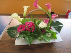 Une série de photos sur de nouvelles magnifiques compositions de la section Art floral.