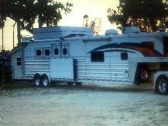 """Fantastic """"horse trailer towing vehicles"""" information is readily available on our website. Read more and you wont be sorry you did. Rv Trailers, Horse Trailers, Horse Barns, Horses, Horse Tack, Small Motorhomes, Airstream Basecamp, Lightweight Trailers, Mercedes Van"""