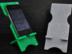 This acrylic phone stand is laser cut and etched from high quality acrylic. Use this iphone stand to hold your phone. You can watch video, check