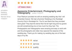 Check us out at www.pureplatinumparty.com #reviews #testimonials #wedding #theknot #wedding #bride #groom #weddingdress #DJ #bridalgown #weddingphotos #weddingphotography #entertainment #photography #celebrate #5stars