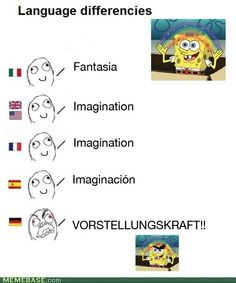 german language differences meme - Google Search