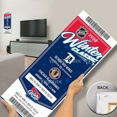 Detroit Red Wings vs. Chicago Blackhawks 2009 Winter Classic Mega Ticket - $99.99