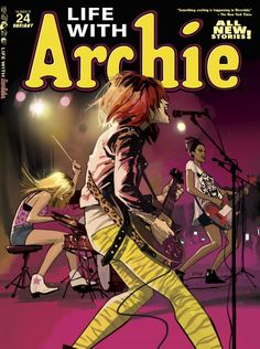 Blogs - BLEEDING COOL debuts LIFE WITH ARCHIE #24 variant by FIONA STAPLES