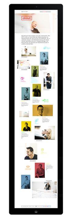 Styria Digital - Branding by moodley brand identity , via Behance