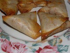 Malène aux fourneaux: samoussas poulet basilic ricotta - 1PP/pièce