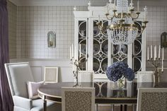 Dining Room by Wendy Labrum Interiors, LLC. #wendylabruminteriors #practicalstyle #tangibledesign
