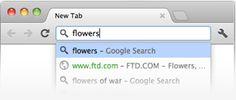 Omnibox de Google Chrome