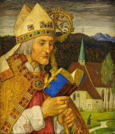 Heilige Wolfgang von Regensburg