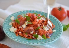 #pasta #spicy #chorizo #yummy #foodporn