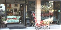 Store front of our new 3,500 sq ft. showroom filled with Fine Art,Estate and Vintage jewelry,and Quality Furnitue...We have so much to offer ..something for everyone!!