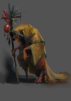 ArtStation - Yellow Weasel Goblin Character Design , Jay Wong