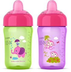 UK Seller Stack /'n Store Sippy by Fisher-Price 2 pack children/'s training cups