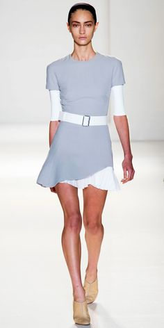 Victoria Bekcham, you've done it again. We adore your Spring 2014 looks! #NYFW | InStyle