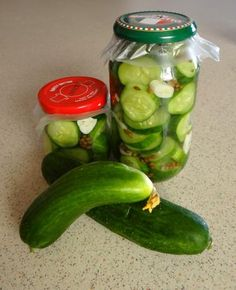 Pickled Lebanese Cucumber Recipe - Food.com - 494648