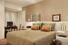 Home Decor Bedroom, Master Bedroom, Interior Exterior, Interior Design, Home Suites, Hotel Room Design, Home Decor Inspiration, Malm, Decoration