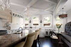 ...and look at the banquette!!!!!!  John Kraemer & Sons design