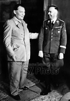 Hermann Goering and Heinrich Himmler