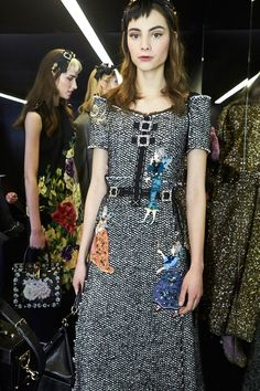 Dolce & Gabbana Fall 2016 Ready-to-Wear Fashion Show Backstage