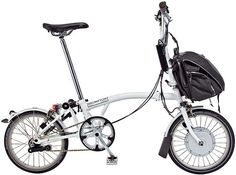 Brompton electric bike by NYCeWheels