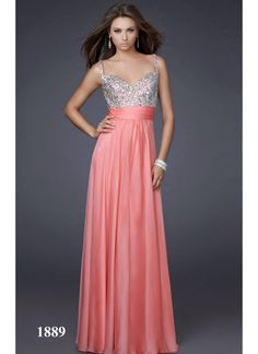 Rozdeal Pink Heart Shape Long Gown @ LooksGud.in   #Gown, #PinkGown, #SweetheartNeck, #LongGown, #FloorLength