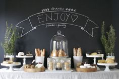 Styled Cheese Table