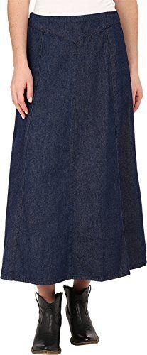 c2e5ddf602 Roper Women's 0023 7.5 Oz Indigo Stretch Denim Skirt Blue Skirt XS at Amazon  Women's Clothing store: