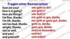 Fragen einer Konversation