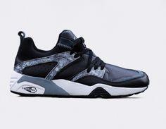 #Puma Trinomic Blaze of Glory Marble Pack Black #sneakers