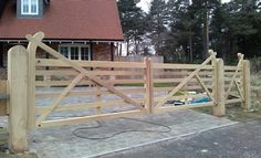 Jeremy Arnold Gates - Hardwood Gates hand made in the New Forest, Hampshire