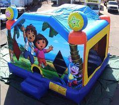 Bounce Dora and Diego Rental info@taylorrentalpartyplusct.com
