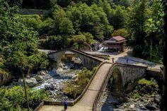 4.Gün Artvin   Çifte Köprüler, Mençuna Şelalesi. Çifte Köprüler  Turistlerin ziyaret noktalar...