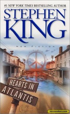 Hearts in Atlantis, by Stephen King .Part Low Men in Yellow Coats, Part Hearts in Atlantis Atlantis, Films Stephen King, New York Times, Steven King, Sir Anthony Hopkins, Horror Books, Horror Movies, What Book, Thing 1