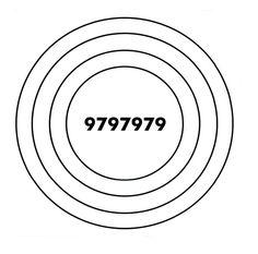 Gráfico Radiestésico - Alta Vitalidade ; coloca-se a foto da pessoa ou animal ou uma planta no centro do gráfico para restabelecer a sua energia e saúde. Cursos: www.elisabeteabreu.com.br