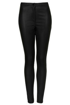 Leather Look Highwaist Trousers